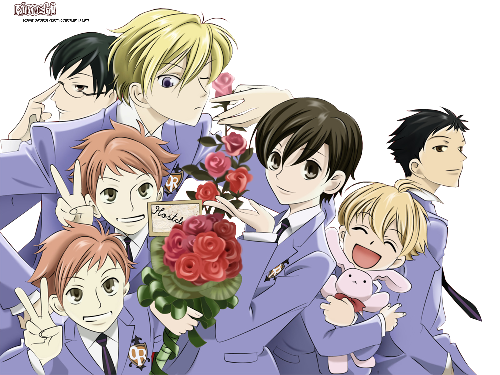 Ouran Highschool Host Club Crest FrostedNight